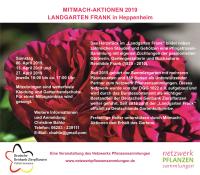 Landgarten Frank Termine 2019